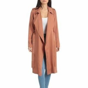 Badgley Mischka Angelina Trench Coat NEW